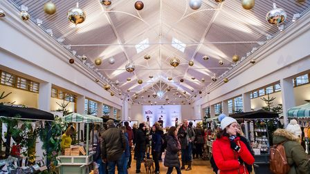 Holkham Hall's Festive Food Far 2017 Picture: Perowne International