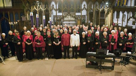 The Beccles Choral Society has returned for the festive season following their sell-out concert. Pic