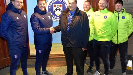 Ipswich Town Academy and Lowestoft Town FC are teaming up to unveil a new centre of excellence progr