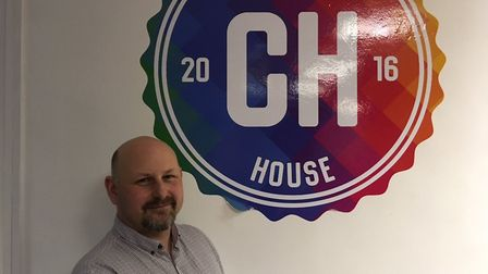 Gavin Gardner, founder of Community House GY in Great Yarmouth. Picture: Joe Norton