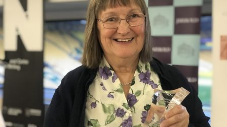 The Exceptional Contribution Award went to Marilyn Brocklehurst, 'a champion of the literary arts, o