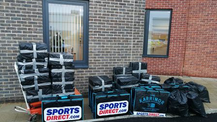King's Lynn Police sieze more than 430,000 cigarettes during an operation. Photo: King's Lynn Police