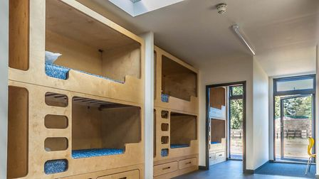A picture of the bunkbox. Picture: Sarah Toon