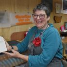 Norfolk artist Charlotte Howarth, who is working on a memorial to nearly 8,000 babies buried in unma