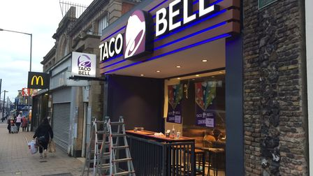 The new Taco Bell restaurant is set to open in Great Yarmouth's Regent Road.