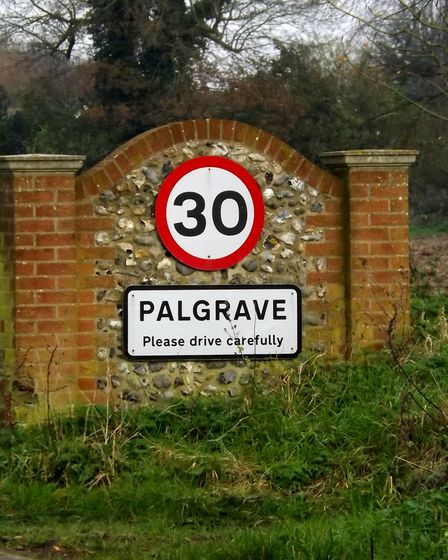 Improved road markings on the Lion Road at Palgrave are on a highways list while a speed survey has