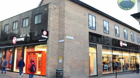 A witness said it happened near to The Virgin Money Lounge in Castle Street, Norwich. Picture: Denis