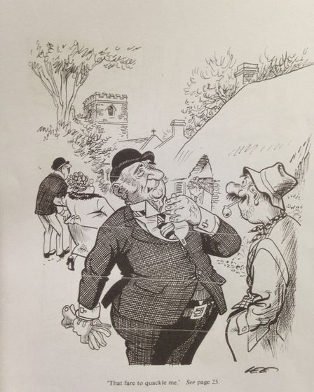 Former publisher Alan Dean hopes to locate missing cartoons from the popular 70s book Broad Norfolk.