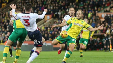 Teemu Pukki takes aim and fires another injury-time Norwich City winner, to earn a stunning 3-2 win