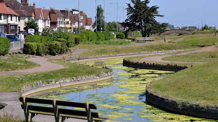 Great Yarmouth Borough Council is set to restore the historic Venetian Waterways on the seafront.Pic
