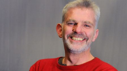 Simon Floyd, director of Norwich-based theatre company The Common Lot. Picture: DENISE BRADLEY