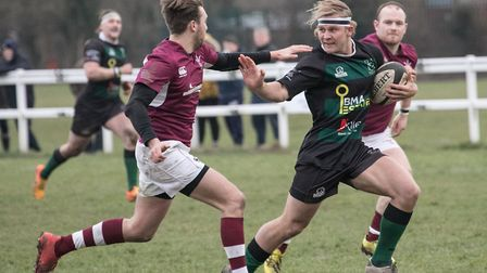 Will Swart was North Walsham's man of the match in their hard-fought win at HAC Picture: HYWEL JONES