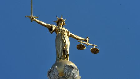 Lady Justice statue atop the Central Criminal Court. Photo: Nick Ansell/PA Wire