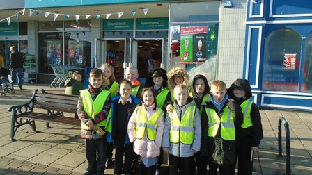 Pupils at Northgate Primary School got a first-hand experience of handling change as they bought Chr