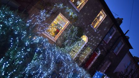 Homes across the NR2 postcode have come together to celebrate the annual Winter Light event.PICTURE: