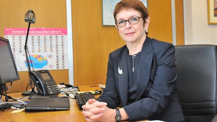 Dr Wendy Thomson is leaving her role of managing director of Norfolk County Council and will not be