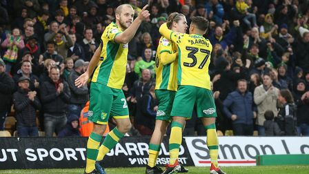 Teemu Pukki, Todd Cantwell and Max Aarons all got their names on the score sheet as Norwich City's i