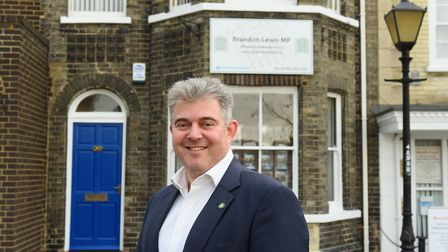 Great Yarmouth MP Brandon Lewis. Picture: James Bass