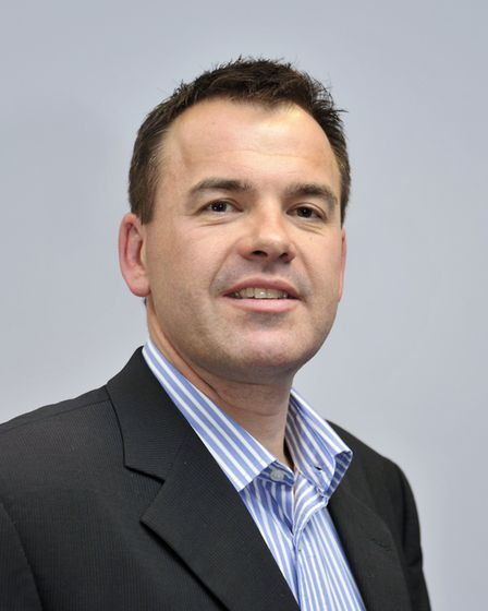 Shaun Vincent, chairman of the Greater Norwich Development Partnership. Pic: Archant Library.