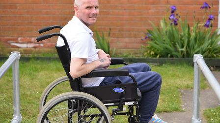 Paul Draper suffered a stroke in 2013 and is preparing for his first skydive to raise money for the