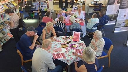 Just A Cuppa at Cromer Library. Picture: Norfolk County Council