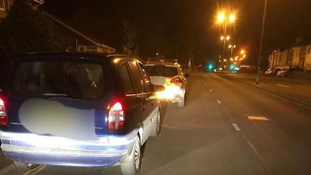 In the early hours of Saturday morning, a vehicle in Gorleston was pulled over by police for a stop