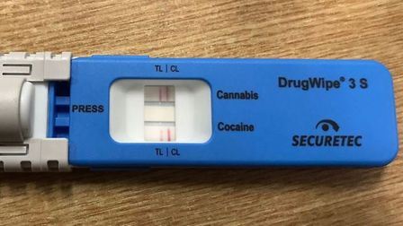 One driver was arrested on suspicion of drug driving after they were pulled aside by for a stop che