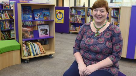 Head, Lucy Wayman, at the Rosecroft Primary School at Attleborough. Picture: DENISE BRADLEY