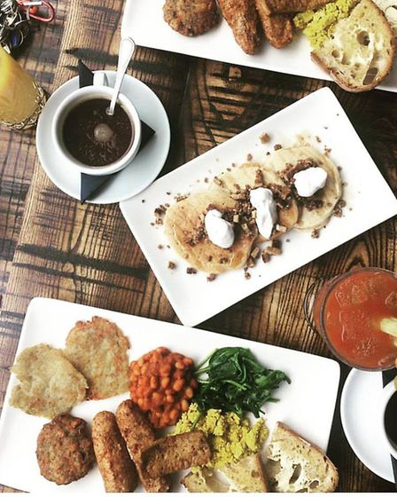 The Tipsy Vegan on Norwich's St Benedicts Street is famed for their cruelty-free brunch. Photo: Cour
