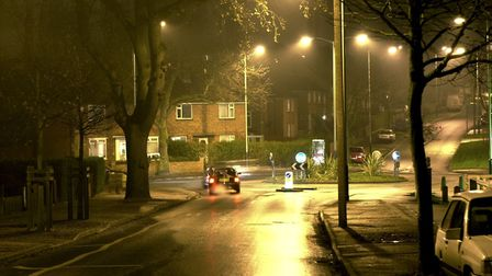 Woodcock Road in Norwich where a property was burgled. Picture Archant.