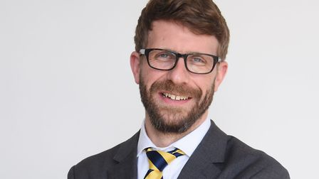 Richard Porritt has moved from covering politics to take on the business editor rolePicture: DENISE