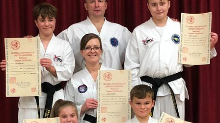 Securing a black belt in Taekwondo takes more than one thousand hours of training, revising and prac