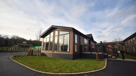 One of the lodges at Norfolk Woods, Darwin Escapes's new multi-million pound luxury resort and spa a