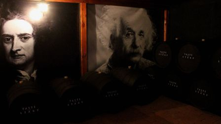 Inside the wave room at Ian Hutcheon's observatory in Chile, where cosmic waves are converted into s