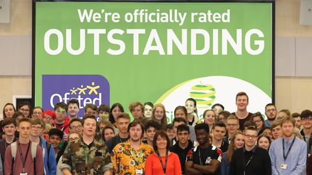 Sir Isaac Newton Sixth Form, which is among the schools ranked as outstanding by Ofsted. Figures fro