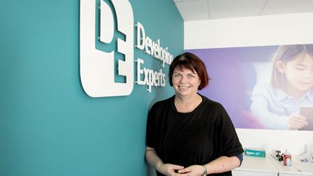 Sarah Mintey from Developing Experts who are based in Norwich. Picture: Nick Butcher