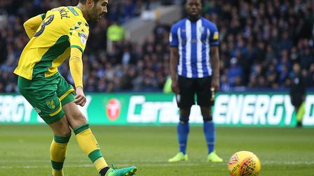 Mario Vrancic saw his early penalty saved at Hillsborough Picture: Paul Chesterton/Focus Images Ltd
