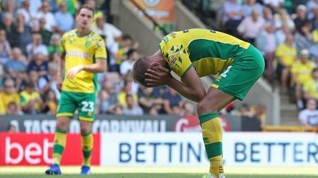 Jordan Rhodes cut an anguished figure straight after his penalty miss earlier this season against We