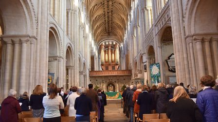 Forget Me Not, a service at Norwich Cathedral for those affected by dementiaByline: Sonya DuncanCopy