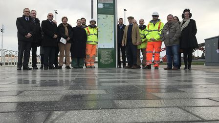 Great Yarmouth Rail Station renovation revealed. Picture: Neil Didsbury