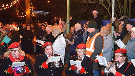 Reydon Christmas lights switch on 2016. Pictures: MICK HOWES.