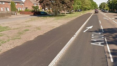 There was a burglary on Dereham Road in Costessey. File photo of Dereham Road. Picture Google.