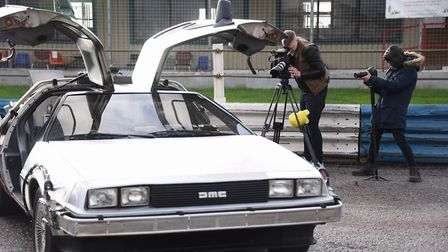 Filming of Cars Are The Stars pilot TV programme at Swaffham Raceway. Picture: DENISE BRADLEY
