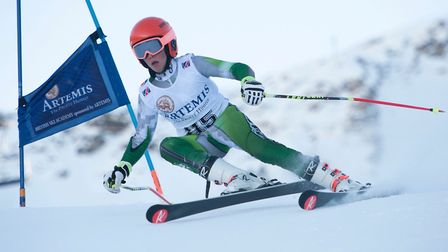 Congratulations to Freddy Temple from Gresham's Prep who came 4th in the U14 Super Giant Slalom at t