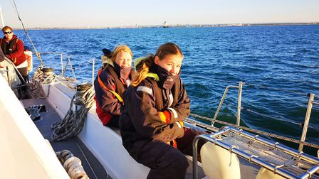 Students from Ormiston Venture Academy went on a sailing trip with the Tall Ships Youth Trust. Pictu