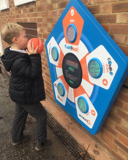 Spixworth Infant School has just installed two new Activall boards. The children are loving this new