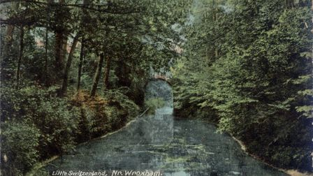 An image showing the High and Low bridge at Little Switzerland, dated 1907. Photo: Museum of the Bro