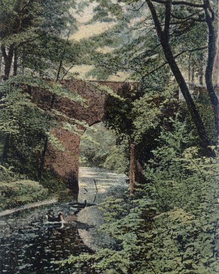 The High and Low bridge at Little Switzerland. Photo: Museum of the Broads and the Marlpit Community