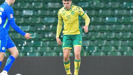 Simon Power, pictured in action against Wolfsburg II for Norwich City U23s last month, has joined Do