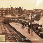 An archive image of the former Hunstanton Railway Station. Norfolk County Council hopes to turn the